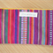 Mexican theme Zippered Pouch // Pencil Case // Makeup Pouch