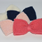 Sweet Large Bow | Knitted Hair Clip | Choose your Colour | Made to Order