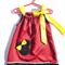 Girls Baby Toddler's Drawstring red Mini dress Sized 2,3,4
