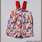 Christmas Print Overalls - Size 00 - 100% Cotton - Custom Orders Welcome