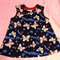 Japanese kimono butterfly pinafore sz 3-6 month