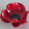 Remembrance Day Poppies -hand crafted ceramic Brooch