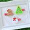 Christmas Hair Clips - Set of 3 - Christmas Tree, Snowman & Gingerbread Girl