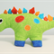 Dilbert the Dinosaur softie /soft plush toy. Handmade using 'Melly & me' pattern