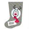 Boys Reindeer Personalised Christmas Stocking