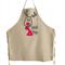 Christmas Reindeer Personalised Apron