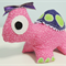 Tally the turtle softie/soft toy/plush toy. Handmade using 'Melly & Me' pattern