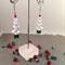 Crystal Clear Large Christmas Tree Xmas Earrings