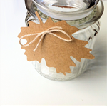 Maple Leaf gift tags. Autumn decor, rustic gift wrap, weddings, Christmas.