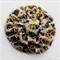 Yellow Ladybug Double Yoyo Hair Clip