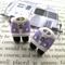 Purple Combi Van Earrings