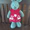 Christy the Christmas Bunny Toy Softie