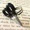 Quirky Scissor Ring