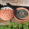 Mosquito Coil Holder with built in stand, Gecko Design