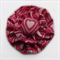 Pink Heart Double Yoyo Hair Clip