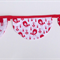 Fabric Bunting Christmas Birds Stars Spots