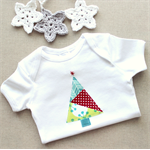 1st christmas tree | baby onesie