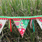 Mrs Button's Bunting -  Christmas Bunting.