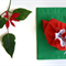 Christmas Fabric Gift Bags, Fully Lined with Satin Drawstring - Set of 2