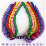 Rainbow Korker Ribbon Hair Clip - Beautiful Kids Hair Accessories - Clips