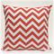 Tropical Orange Zig Zag/Chevron Outdoor Cushion Cover