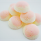 10 Large White Tea and Ginger Bath Fizzies