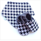 Houndstooth Print Baby Shoes & Bandanna Bib Gift Set
