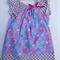 Purple Glitter Beatles Peasant Dress, Girl, Baby, Toddler