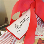 Personalised Santa Sack Tag- Christmas