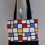 Handbag - Geometric Squares