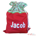 Personalised Santa Sack - Holiday