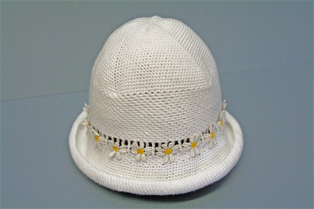 Cotton Crochet Hat (2-3 years), handmade >free shipping!