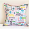 Cushion cover 1950s Mid-century vintage sewing notions decor