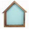 Bird house Shadowbox - Bluebird blue