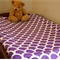 Purple Scale Baby Change Table Cover for Boys & Girls, Baby Shower Gift
