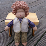 Papa Gumleaf - Miniature Waldorf Dollhouse Doll