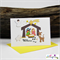 Nativity Scene - Baby Jesus - Star - Stable - Christmas Card - Blank Inside