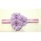 """Isla"" Headband in Lilac"