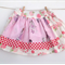 Girl's Twirly Tea Party Skirt Pink Floral - Girl, Toddler, Summer, Spring