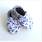 Nautical Anchors Baby Shoes