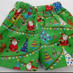 Size 1-Green Happy Santa