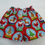 Size 2-Santa & Reindeers
