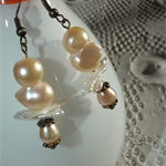 Pond Friends SALE wedding bridal earrings unique natural pearl bird collection