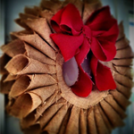 Large Handmade Hessian Wreath