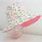 Girls hats in sweet bird pattern