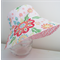 Girls hats in gorgeous floral pattern
