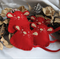 Christmas Red Mozzarella Catnip Mouse