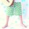 Boys Geometric Shorts - Size 2, 4, 6, 8