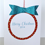 FREE POST Pack of 5 Merry Christmas 2014 cards