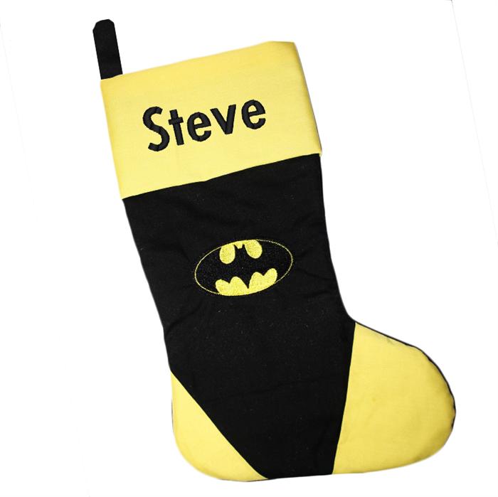 batman christmas stocking personalised christmas stocking justice league